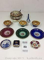 Limoges, Porcelain Decor Vienna, Delft Blue