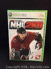NHL Video Game for Xbox 360 (New)