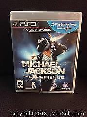 Michael Jackson Video Game PS3