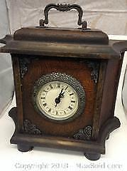 Working Tested Clock Antique Repro