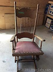 Antique Rocking Chair C