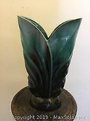 Blue Mountain Pottery And Franklin Mint Vases - A