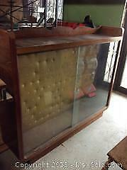 Retro glass cabinet