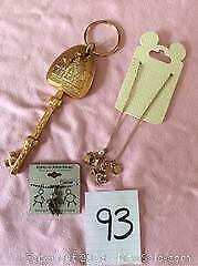 Disney Keychain Necklace And Pendant