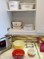 Corning Ware and Pyrex B
