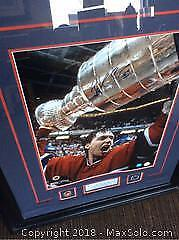 Massive Patrick Roy Certified Autographed Framed Photo Montreal