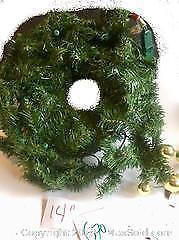 1 Outdoor XMas Wreath With Lights