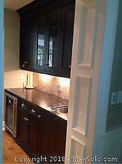 Bar Section Cabinets And Granite B