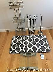 Bathroom Mat, Scale And More