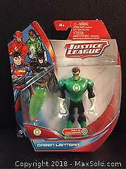 Exclusive Green Lantern Figure (New)