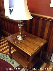 Table And Lamp A