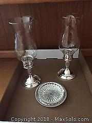 Towle Sterling Candle Holders And More A