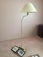 Floor Lamp And Art A