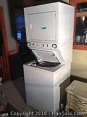 Stacking Washer And Dryer A