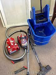 Industrial Bucket And Dirt Devil Vacuums B