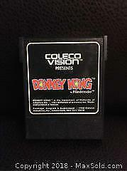 Donkey Kong Video Game for ColecoVision