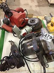 Corded Saw, Drills and Sander. B