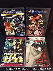 Lot of 4 Classic Horror Films on DVD