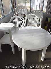 Plastic Patio Furniture C