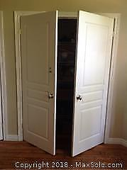 Double Closet Doors With Strikers A