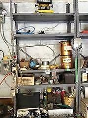 Metal Shelving And Hardware Contents B