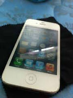 FOR SALE: White iPhone 4S 16gb with Rogers/Chatr