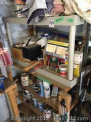 Plastic Shelving And House Painting Accessories B