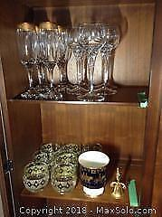 Coalport Limited Edition, Glassware And More A