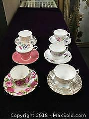 Vintage Bone China Teacups and Saucers
