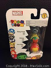 Tsum Tsum Hulk Vision Iron Man (New)