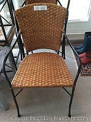 Crate And Barrel Rattan Chairs