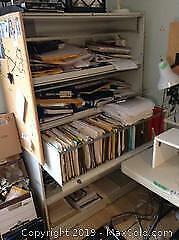 Metal Filing Cabinet. C
