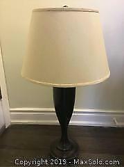 Pottery Barn Metal Table Lamp - B