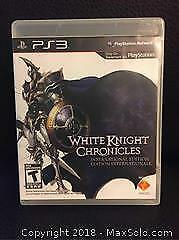 White Knight Video Game for PS3