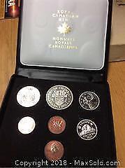 1971 Canada BC Mint Coin Set