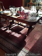 Antique Dining Room Table- C