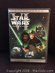 Star Wars Return of the Jedi on DVD