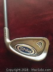 Demo Like New Ping 6 Iron Golfing