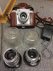Vintage Battery Charger, Camera And More A