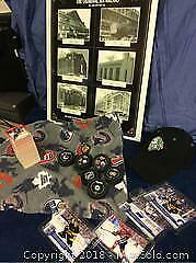 Hockey Lot Cards Plaque Hat Plus More A