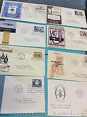 1950s Canada First Day Cover Lot