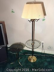 Table Lamp and Table B