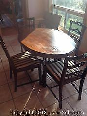 Table And Chairs - C