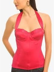 Guess by Marciano Corset Top Pink in Medium