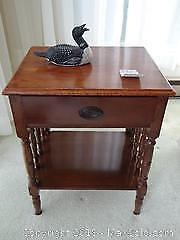 Pair Of End Tables B