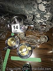 Vintage Glasses, Candle Holders and More A