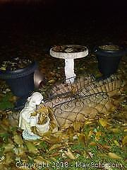 Urns and Lawn Decor B