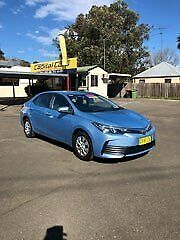 2017 Toyota Corolla ZRE172R MY17 Ascent North Sky Blue Metallic 7 Speed CVT Auto Sequential Sedan North Richmond Hawkesbury Area Preview