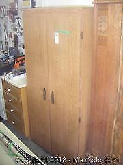 Storage Cabinet And Contents C