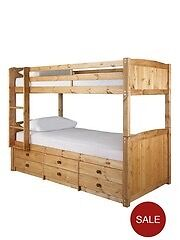 Bunk bed with guest bed